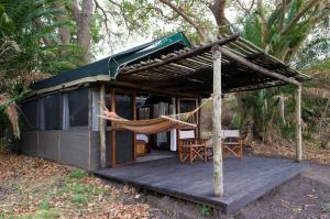 Busanga Bush Camp, Tent